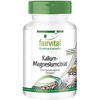 Citrato de Potasio y Magnesio - VEGANO - 120 cápsulas