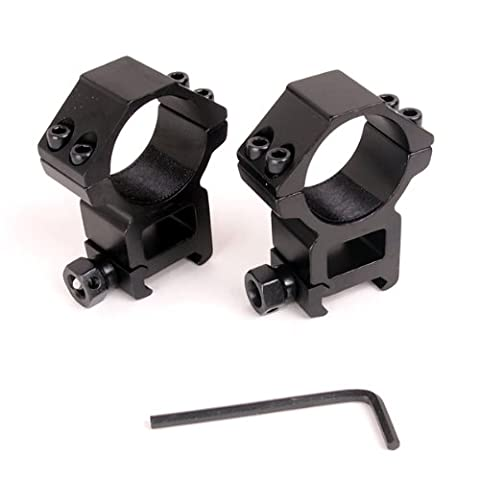 Tool-less installation with two sets QD screw specification 30mm Scope Mount Ring (japan import)
