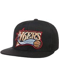 4ac4d57abd8b39 Mitchell & Ness Cappellino Wool Solid 76ers& Berretto Baseball NBA cap  Cappello Hiphop