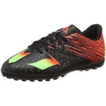 sports shoes 4a007 a66d5 adidas Messi 15.4 TF, Chaussures de Football Compétition Mixte Enfant, Core  Black Solar