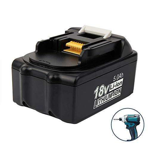 18V 5.0Ah Li-ion Ersatzakku für Makita BL1850 BL1850B BL1860B BL1860 BL1830 BL1840 BL1845 BL1815 BL1820 BL1835 194205-3 LXT-400 18V Werkzeug Akku Kabelloser Drill Power Tools