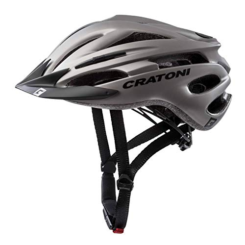Cratoni Fahrradhelm Pacer, Anthracite Matt, Gr. S-M (54-58 cm) (Damen Fahrrad Helm,)