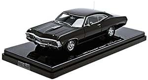chevrolet impala ss 2 door coupe baujahr 1967 schwarz 1 43. Black Bedroom Furniture Sets. Home Design Ideas