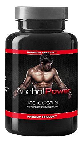 Anabol Power Testo Booster Extreme By VargPower 120 Kapseln Beliebt bei Bodybuilding und Männer Hochdosierte Formel mit Tribulus Terrestris Avena Sativa Auf Höchstem Qualitätsniveau Hergestellt