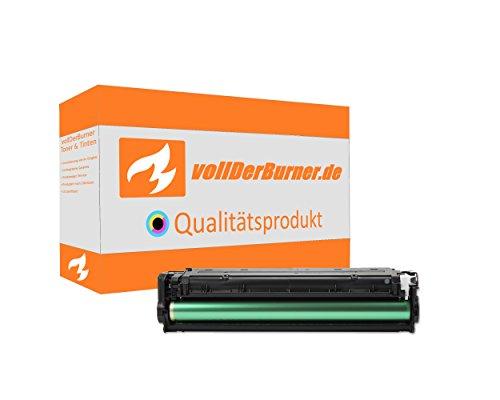 vollDerBurner XXL Toner für HP 131X CF210X 131A CF210A CF210 Black Schwarz 2400 Seiten für HP LaserJet Pro 200 Color -