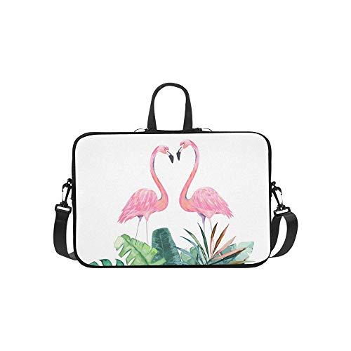 Tropical Print Einladung Aktentasche Laptoptasche Messenger Schulter Arbeitstasche Crossbody Handtasche Für Geschäftsreisen ()
