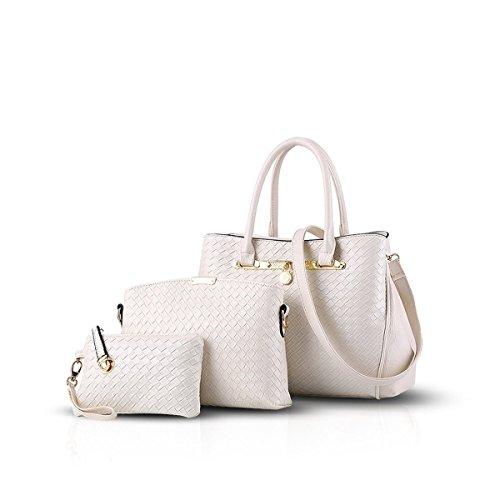 Bilis, Borsa a mano donna, White (bianco) - Bilis-040 White