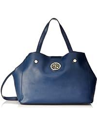 Carlton London Women's Handbag (Navy)