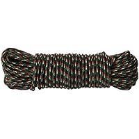 Brand sseller Multiusos Cuerda 25Metros de Nylon/Aceites/A La abrasión/, Resistente a los Rayos UV, Negro, 25 m