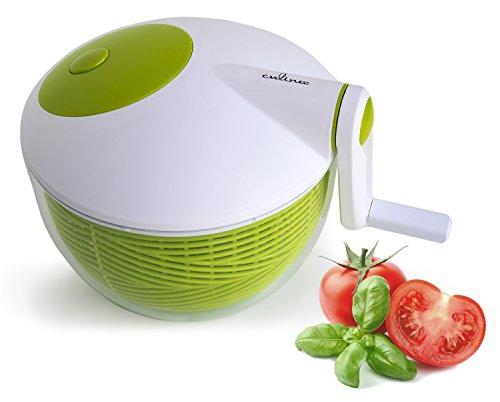 Culina Salatschleuder 23 cm Platzsparend, Langlebige robuste Konstruktion