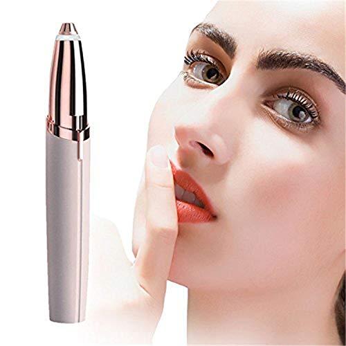YILAITE Depiladora,  herramienta para cejas,  indolora,  libre de alergias,  cejas,  labios,  barbilla,  mejillas,  cuello,  etc. Depilatorio (sin batería)