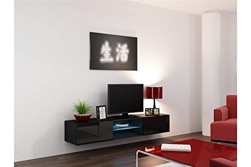 Meuble TV Design Ramses - Noir