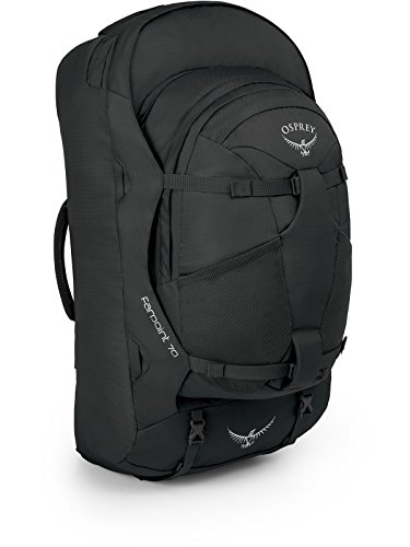 Osprey - Farpoint 70, color volcanic grey, talla 67 Liters-S/M
