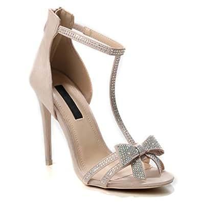 Schuhe Absatzschuhe High Damen Heels Absatz Hohe Highheels Pumps 15uT3lFKJc