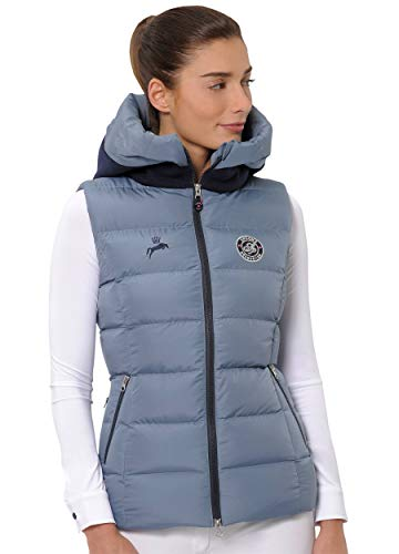 SPOOKS Damen Weste leichte Damenweste Steppweste - Debbie Vest Blue XL