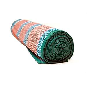 QUINERGYS™ Antislip Harmony Eco Friendly Jute Yoga Mat Pilates Mat Exercise Mat