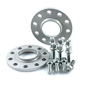 TuningHeads/Eibach 419176.DK.S90-2-10-002 Spurverbreiterung, 20 mm/Achse + Radschrauben, 20 mm/Achse