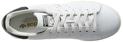 adidas Unisex-Erwachsene Stan Smith Sneaker Weiß (Footwear White/Core Black)