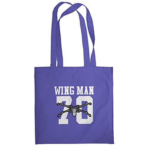Texlab–Wing Man 70–sacchetto di stoffa Marine