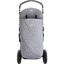 Saco de Algodón para cochecito y silla de paseo, Impermeabilizado White Star Janabebé®