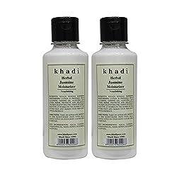 Khadi Herbal Jasmine Moisturizer - 210ml (Set of 2)