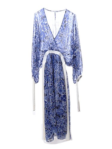 agnona-femme-s4053r959ox310-bleu-claire-soie-robe