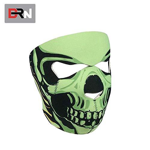 Ya1&Ya Headmask _Eva Maske Kopfmaske Halloween Gruselige Maskerade cos Rollenspiel