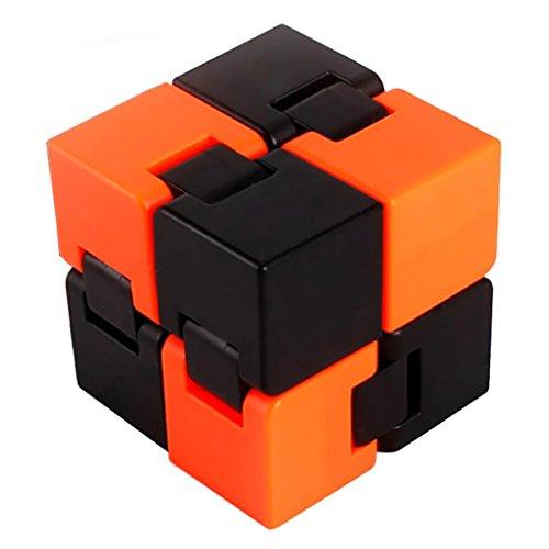 Preisvergleich Produktbild Omiky® Fidget Cube Ring Stress Angst Ring Spielzeug entlastet Stress und Angst und entspannen (#A)