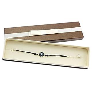 ArtDog Ltd. Rottweiler, Armband mit Box für Leute, die Hunde lieben, Foto-Schmuck, Handmade