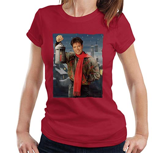 TV Times Cliff Richard Christmas Lantern 1990 Women's T-Shirt -