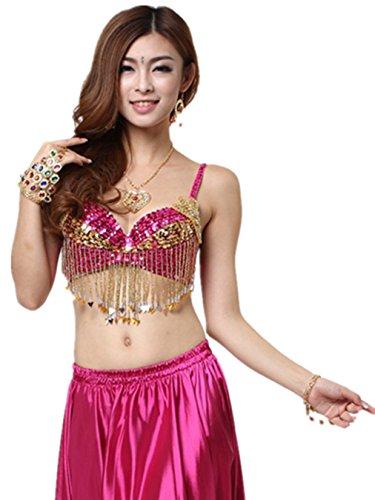 danza-top-reggiseno-costumi-perline-frange-reggiseno-top-fiore-di-paillettes-danza-del-ventre