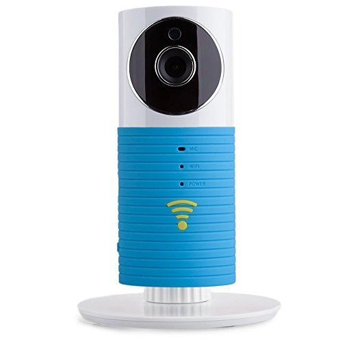 Cleverdog Plug & Play DOG-1W Wireless Wifi IP P2P CCTV Camera (Blue)