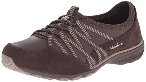 Skechers Conversations, Baskets Basses Femme Marron