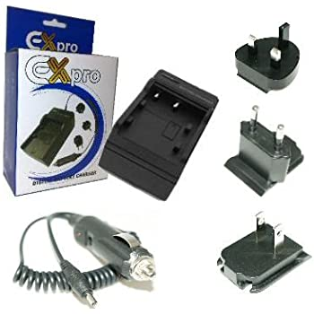 Ex-Pro Travel Pro Charger for Nikon COOLPIX