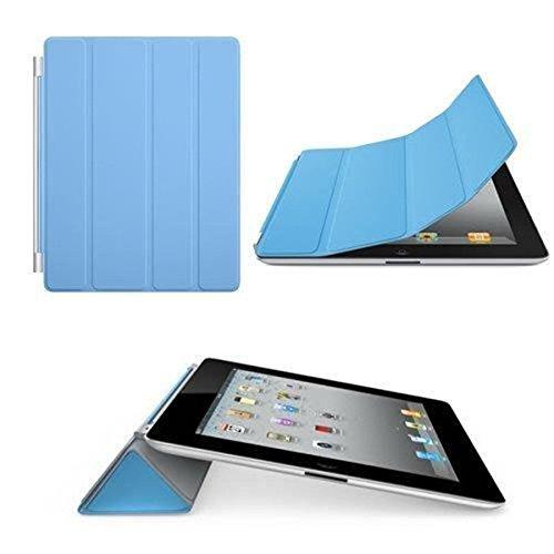 Preisvergleich Produktbild Hilai Schutzhülle für iPad 2,  iPad 3,  iPad 4,  magnetische Flip Smart-Schutzhülle mit Ständer,  Blau
