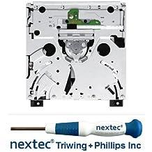Unidad De Disco DVD Nintendo Wii (D4/ D32) + Destornillador Nextec® de Triwing y Phillips