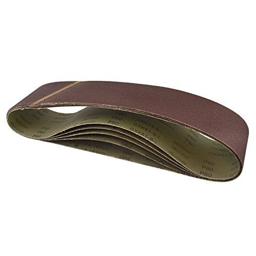 Paquete de 20 bandas de lija grano 80 915 x100mm herramienta esmeriladora lijadora carpintería archivo SIL67