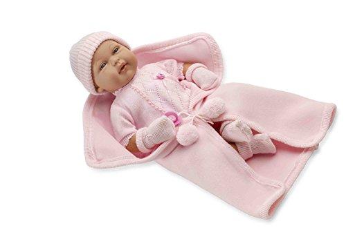 Elegance 50 Cm Real Baby Rosa C/ Pianto