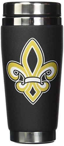 Mugzie ® MAX 20 ml tasse de voyage en acier inoxydable avec combinaison Isotherme-Fleur de Lys-pour Homme ou Femme