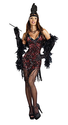 DreamGirl 22.382,5 cm Dames like US Costume, X-Large