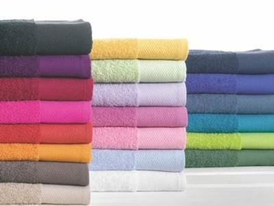 Happidea Voglia di Colore Asciugamano, Cotone, Fresia