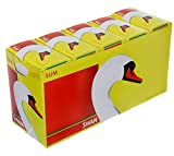 Swan Slimline Filter Tips-10 box-1650 Tips, Paper, Yellow, 4 x 4 x 2 cm