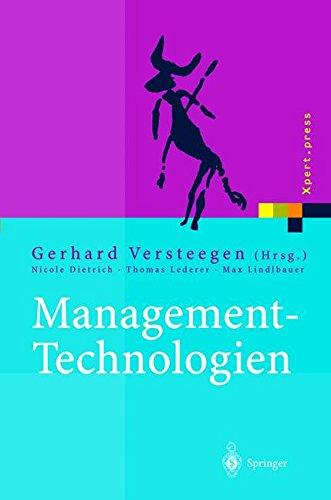 Management-Technologien: Konvergenz von Knowledge-, Dokumenten-, Workflow- und Contentmanagement (Xpert.press)
