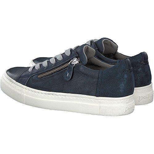 Paul Green, Chaussures À Lacets Bleues Blau Blau Pour Femme