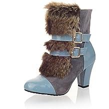 AdeeSu - Pantofole a Stivaletto donna