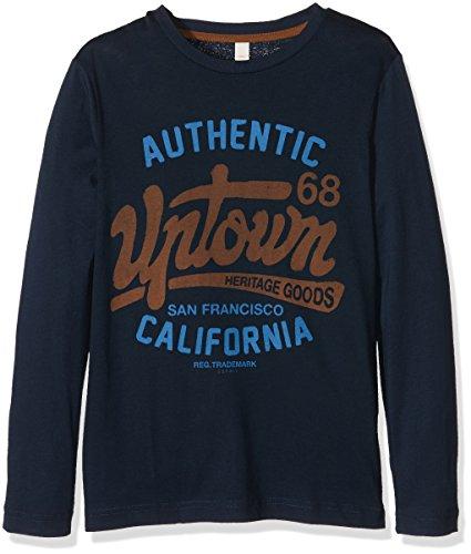 Esprit Kids Jungen T-Shirt, Grau (Ink 415), One size (Herstellergröße: XS)