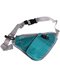 YFXOHAR Travel Sports Triangle Waist Water Bottle Belt Sports Waist Bag Bottle Holding Pouch Travel Bag (Multi...