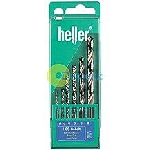 Heller ® 6 Piece HSS-Co Cobalt Drill Bit Set - 2mm - 8mm Quality German