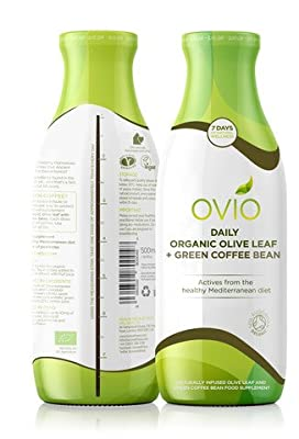 OVIO Daily Organic Olive Leaf Supplement Plus Green Coffee Bean (two pack) from OVIVO