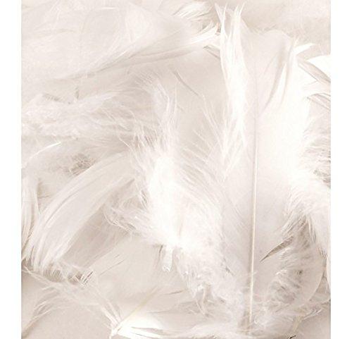 Weiß Flauschig Federn Art Crafts Karte machen Tisch Kuchen Party Dekorationen Filler